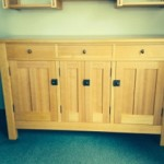Cabinet out of VG Pine